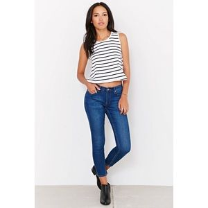 Cheap Monday Prime Cropped Sonic Skinny Jeans 24